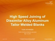 High Speed Joining of Dissimilar Alloy Aluminum Tailor Welded ...