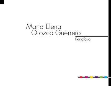 Orozco Guerrero Maria Elena