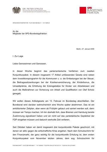 SPD-BUNDESTAGSFRAKTION  PLATZ DER ... - Petra Hinz
