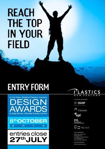 Awards Entry 2012.e.pdf - Plastics New Zealand
