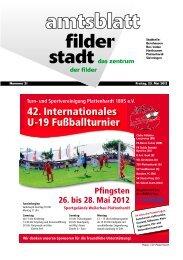 Amtsblatt KW 21.pdf - Stadt Filderstadt