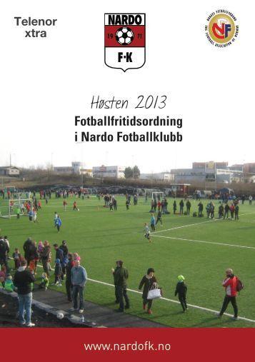 Høsten 2013 - Nardo Fotballklubb