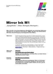 Mirrorink - Lang & Schmidt OHG