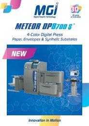 4-Color Digital Press - Sagam