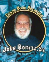 John Romita, Sr. - Comic Book Creators - Sharyland ISD