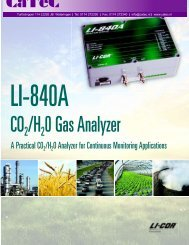 A Practical CO2 /H2 O Analyzer for Continuous Monitoring ...