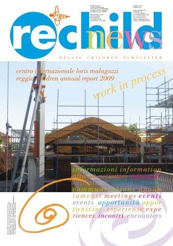 Rechild news Gennaio 2010 - Reggio Children
