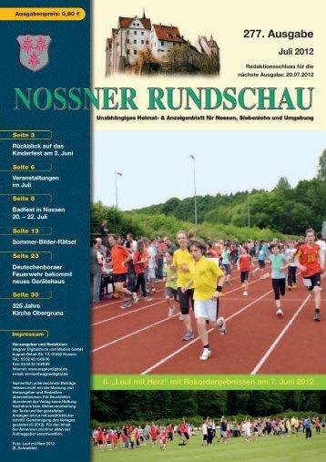 Eberle- Schule Nossen - Nossner Rundschau