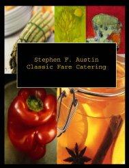 Stephen F. Austin Classic Fare Catering - CampusDish