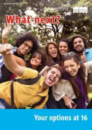 What next booklet - Beacon Community College