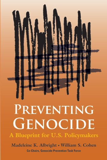 Genocide Prevention Task Force — United States Holocaust ...