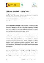 DISPLASIAS ECTODÉRMICAS HEREDITARIAS