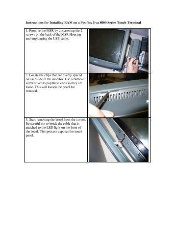 Posiflex printer pp 6800