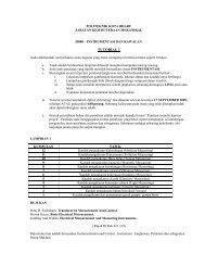 TUTORIAL 1 - Politeknik Kota Bharu