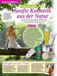 Sanfte Kosmetik aus der Natur - Pharmos Natur