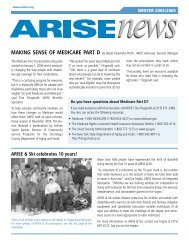 ARISE & Ski celebrates 10 years!