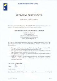 EASA Approval - AmSafe