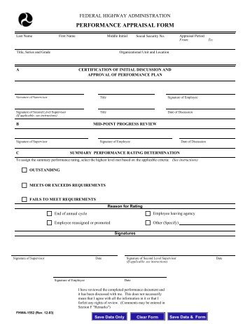 Staff Performance Appraisal Form - Leap Academy University