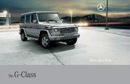 Download G-Class catalogue (PDF) - Mercedes-Benz Brunei