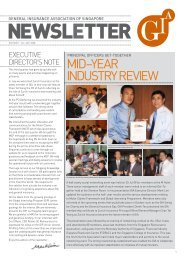 mid –year industry review - General Insurance Association Of ...
