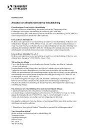 Ansökan om tillstånd att bedriva riskutbildning - Körkortsportalen