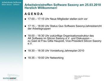 PowerPoint Designvorlage - Arbeitskreis Software