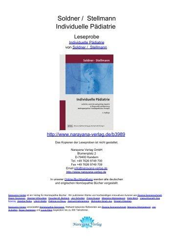 Soldner / Stellmann Individuelle Pädiatrie