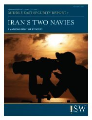 iran's two navies - Clash of Arms