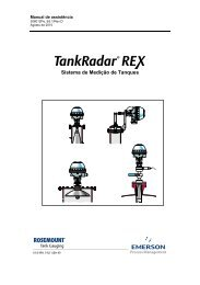Manual de Assistência - Rosemount TankRadar