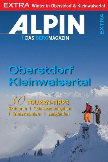 oberstdorf Kleinwalsertal - Alpin.de