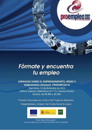 CARTEL Jornadas finales MARCHENA 11-12-12 - Utrempresa
