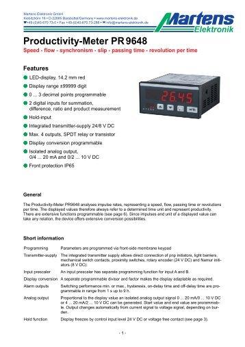PR9648-V1_6-00- Prospekt - Martens Elektronik GmbH