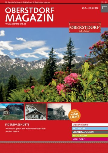 Touristinformation Oberstdorf, Tel. (08322) - Amazon Web Services