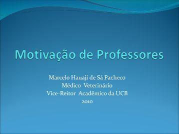 Motivação de Professores - CFMV