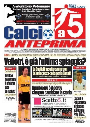 serie c/1 - Calcio a 5 Anteprima