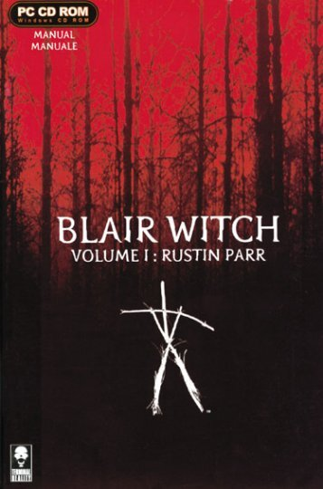 """Blair Witch Project Vol. 1 """"By Sitosenzanome.it"""""""