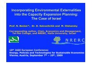 The Case of Israel - AAEE