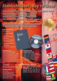 The worldwide competent cross reference work Key to Steel · 22 ...