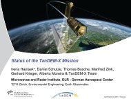 Status of the TanDEM-X Mission - eLib - DLR