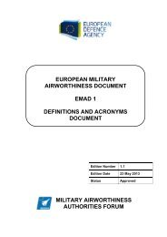 EMAD 1 Edition 1.1 (23 May 2013) – Approved - European Defence ...