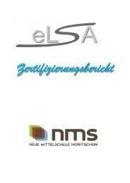 eLSA-Zertifizierung an der NMS Horitschon - eLSA - Schule.at