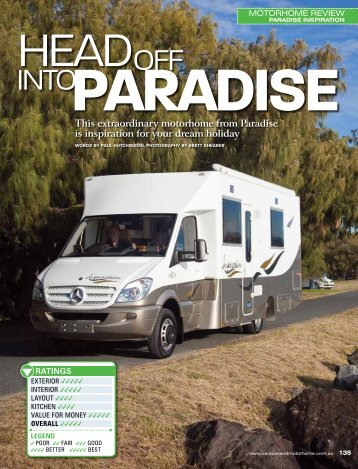 This extraordinary motorhome from Paradise is inspiration for your ...