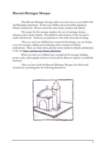 Biscotti-Meringue Mosque.pdf - Mission Islam