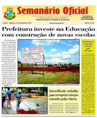 Prefeitura investe na Educação com construção de novas escolas
