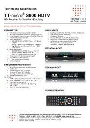 TT-micro S800 HDTV - TechnoTrend Görler