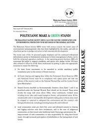 English - pdf - 85 Kb - Malaysian Nature Society