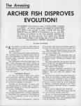 Archer Fish Disproves Evolution - Church of God - NEO - Page 3