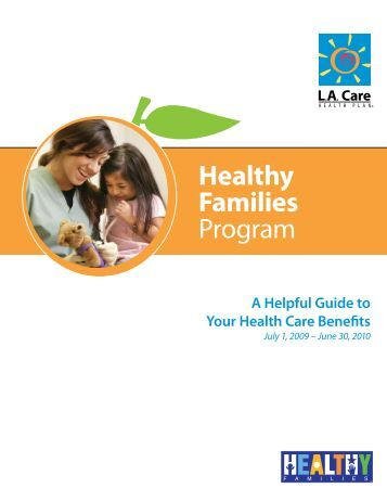 the healthy families program I think about where she would have been -- where i would have been -- had i not  had the healthy families program more important, i think about where my child.