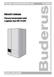Stáhnout - Buderus