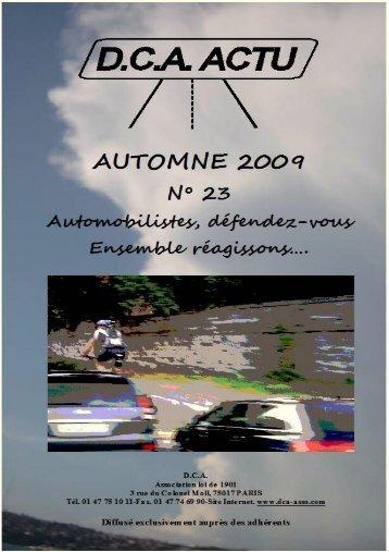 D.C.A. ACTU N° 23 – Automne 2009 - ovh.net